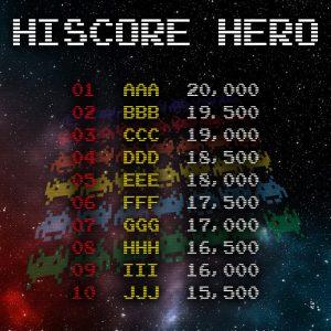 Hi Score Hero
